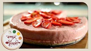 how to make easy no bake strawberry cheesecake