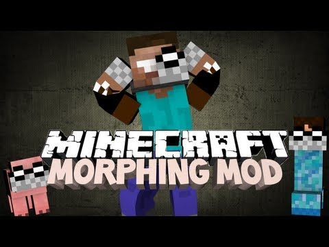 minecraft morphing mod transform into anything by ichun minecraft the