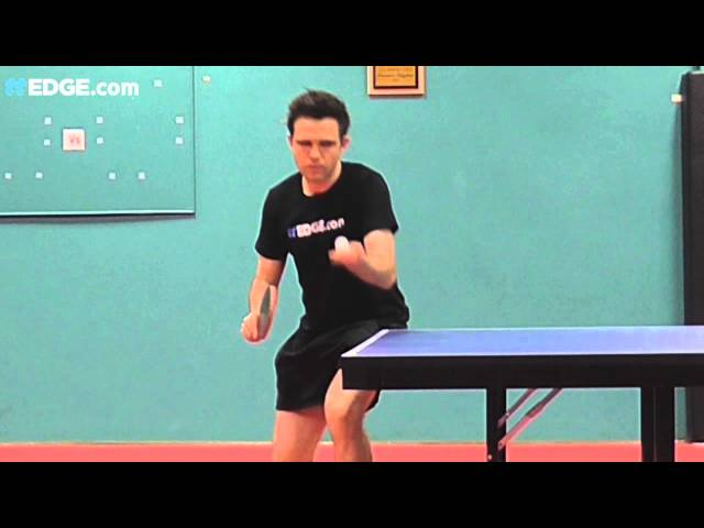 Ping Pong Tomahawk Serve Table Tennis Tomahawk Serve By