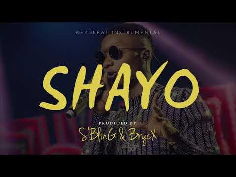 """Shayo"" Afrobeat Instrumental | Wizkid x Mayorkun Type Beat | Collab w/ Brycx"