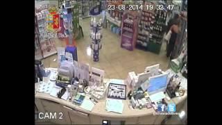 preview picture of video 'Rapina alla farmacia comunale di Velletri'