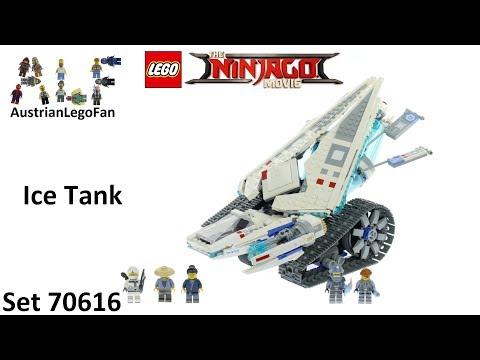 Vidéo LEGO Ninjago 70616 : Le Tank de Glace