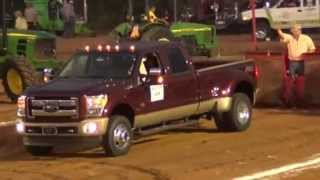 ford 2012 vs silverado 2012 in tractor pulling event.