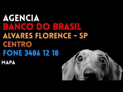 ✔ Agência BANCO DO BRASIL em ALVARES FLORENCE/SP CENTRO - Contato e endereço