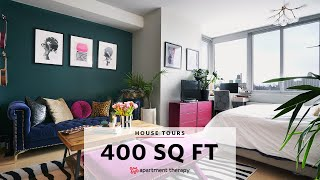 Esis Bold 400-Square-Foot Brooklyn Studio | House Tours | Apartment Therapy