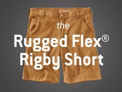 The Rugged Flex® 10 Inch Rigby Short from Carhartt