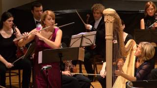 Mozart: Concerto for Flute, Harp, and Orchestra in C major, K 299 - complete - LIVE