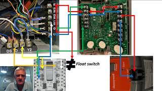 honeywell w8150 whole house ventilation wiring