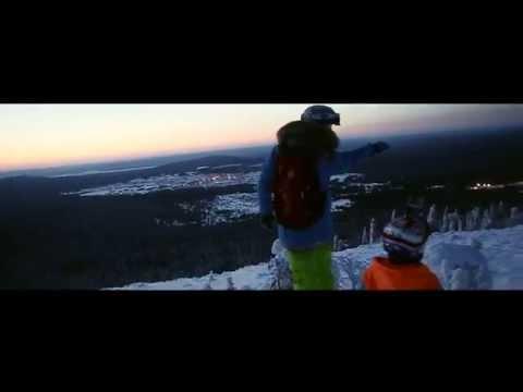 Видео: Видео горнолыжного курорта Белая, Гора в Свердловская область