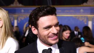 """Cinderella's Richard Madden Admits Learning to Dance Was """"Misery"""""""