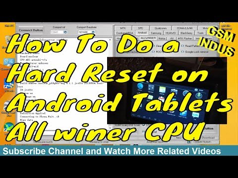 Download How To Do A Hard Reset Factory Default On Android Tablets