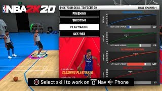 HOW TO UNLOCK ANY DRILL IN THE PRACTICE FACILITY IN NBA 2K20! THIS WILL GET BADGES 2X FASTER!