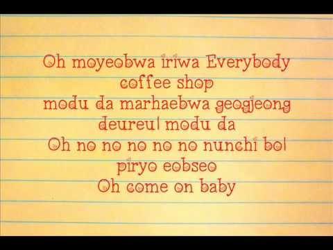 CNBLUE - Coffee Shop (Lyrics) [Re:Blue Mini Album]