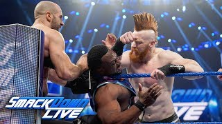 The New Day vs. The Bar - Gauntlet Match Part 3: SmackDown LIVE, March 26, 2019