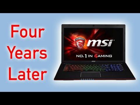 MSI Gaming Laptop - 4 Years Later