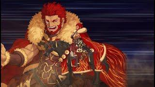 Iskandar  - (Fate/Grand Order) - 【FGO】イスカンダル【伊斯坎達爾,ライダー】宝具+EXアタック附中文字幕【FateGO】Iskandar〔Alexander the Great〕Noble Phantasm 【王の軍勢】