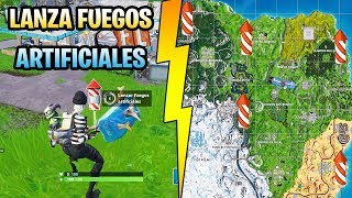 Fortnite Temporada 7 Semana 4 Lanza Fuegos Artificiales 免费在线