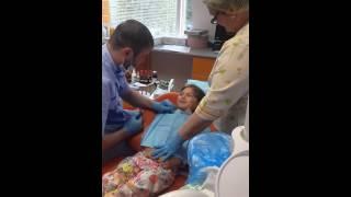 Удаления зуба, без анастезии
