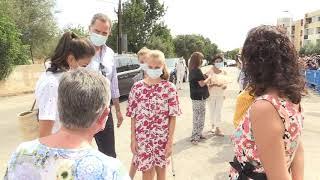 Visita de SS.MM. los Reyes y SS.AA.RR. al Centro Socioeducativo Naüm