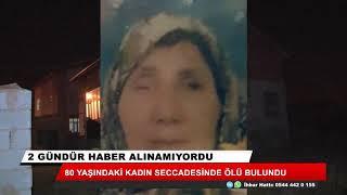 Konya'da 80 yaşındaki kadın 'secdede' ölü bulundu