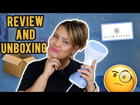 PLANCHA A VAPOR PARA VIAJES REVIEW AND UNBOXING | FUNCIONA ??! GLAMFIELDS STEAMER