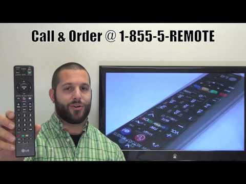 LG MKJ42519637 TV Remote Control