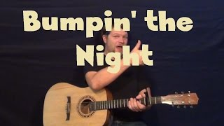 Bumpin the Night (Florida Georgia Line) Easy Guitar Lesson How to Play Tutorial