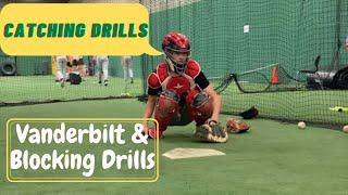Baseball catcher drills | Vanderbilt drills