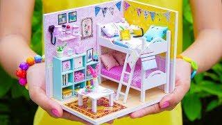 Diy Miniature Bedroom ฟร ว ด โอออนไลน ด ท ว ออนไลน คล ป