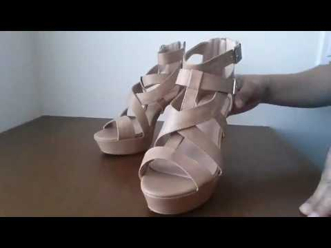 Women's Strappy Open Toe Platform Sexy, Absolutely beautiful platform sandals extremely comfortable