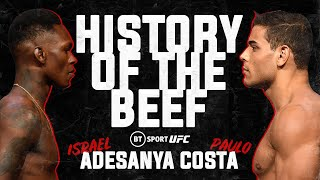 Israel Adesanya v Paulo Costa: History of the Beef   UFC 253 promo