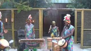 Tribal Entertainment at Ngala Wildlife Preserve Event