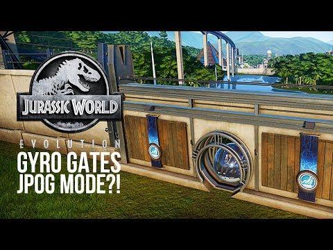 GYROSPHERE GATES & DIGSITE RANDOMISATION | Jurassic World: Evolution Update