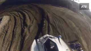 preview picture of video 'Motocross Cremona 2014 GoPro + Crash'