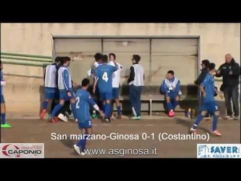 immagine di anteprima del video: Juniores: SAN MARZANO-GINOSA 1-2 Ginosa corsaro anche a San Marzano con Costantino e Criscuolo