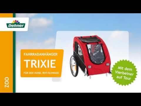 Dehner - Trixie Fahrradanhänger für Hunde