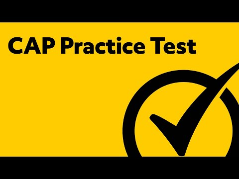 CAP Exam (Sample Questions and Answers) - YouTube