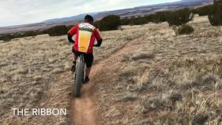 Here I am carving some beautiful singletrack ribbon. Keep singletrack narrow.