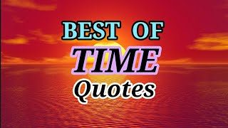 BEST OF TIME QUOTES Top 30