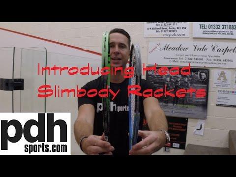 HEAD Graphene XT Xenon 120/ 135 Slimbody squash rackets review by PDHSports.com