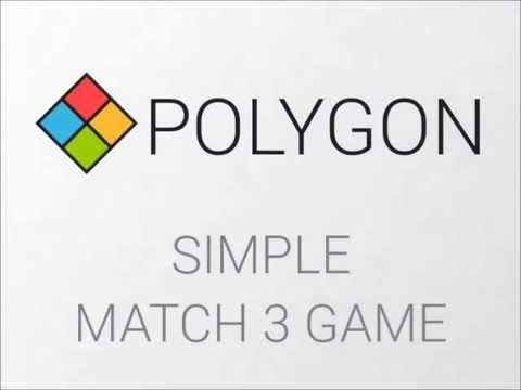 Video of Polygon: Match 3 Blocks