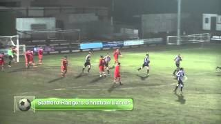 preview picture of video 'Staffordshire Senior Cup Semi Final Goal Highlights Stafford Rangers v Walsall Wood'
