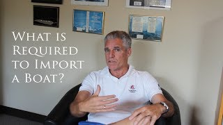 How do I import and pay duty on a boat?