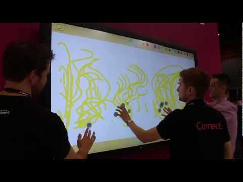 Windows 8 On An 82-Inch Touch Screen [Video]