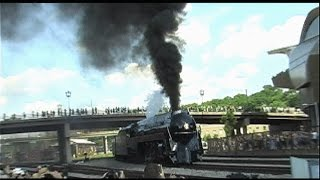611 Steam Train Arriving In Roanoke Virginia