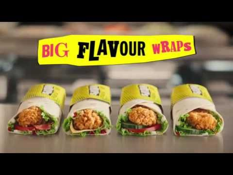 McDonald's Commercial for McDonald's Big Flavour Wraps (2016) (Television Commercial)