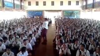 How to lead the school hymn like a BOSS!