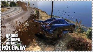 GTA 5 Roleplay - Lost Control Crash $2,500,000 Koenigsegg Agera RS | RedlineRP #424