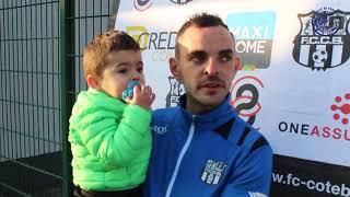 Réactions d'Après Match 16e de finale Coupe Gambardella FC Côte Bleue 0 - 1 Toulouse FC