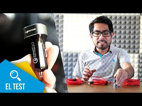 Cargador rápido para automovil y los mejores cables | El test
